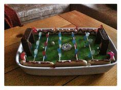 Kickertisch Soccer table cake