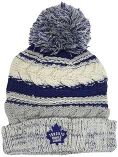 Brrrrr, I think I need this Women's Hockey, Field Hockey, Streetwear Hats, Ski Wear, Toronto Maple Leafs, Fashion Mode, Blue Adidas, Nhl, Knitted Hats