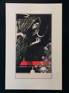 """Savage Mistress"" - Art Print"