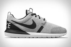 You don't have to wear a pair of boots to keep your feet warm this winter. The Nike Roshe Run NM W will work just fine. This sneaker features a minimalist upper made from the same Tech fleece as some...
