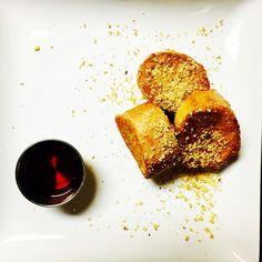 Vanilla Coconut French Toastlets with Toasted Coconut and Walnut dust. Amazing brunch idea and sooooo easy!