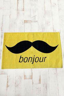 Yellow Bonjour Rug