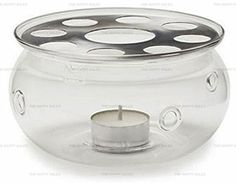 Happy Sales Glass Teapot Warmer Heat Proof Glass Clear ** You can find more details by visiting the image link.Note:It is affiliate link to Amazon.
