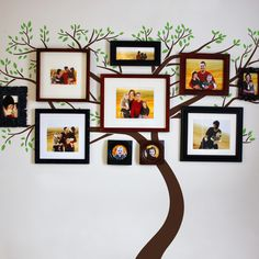 Wall Decals, Wall Stickers by DecalMyWall.com - Family Tree Wall Decal, $109.00 (http://www.decalmywall.com/tree-wall-decals/family-tree-wall-decal/)