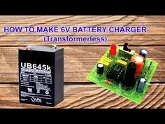 Transformerless Power Supply (6 volt charger) - YouTube
