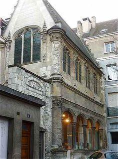 Chapelle Renaissance Beaune-Semblançay-aile sud de l'Hôtel Beaune Sembleçay