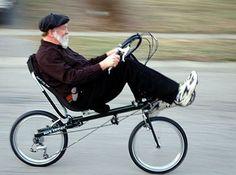 BikeFriday recumbent bicycle
