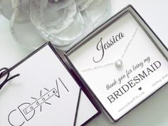 Personalized gifts for your entire bridal party. Choose from 27 sterling silver charms. Personalize your bridal cards for bridesmaids, maid of honor and more. Black Wedding Themes, Pink Green Wedding, Bridesmaid Necklace Gift, Be My Bridesmaid, Bridesmaids, Maid Of Honour Gifts, Maid Of Honor, Hot Pink Weddings, Grey Weddings