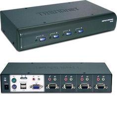 4-port Usb/ps2 Kvm Switch Kit