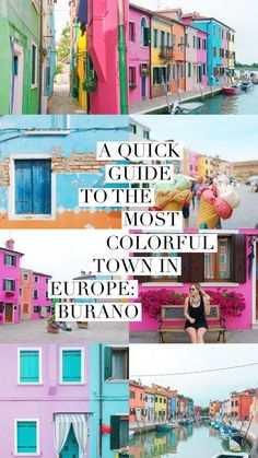 Burano is an Italian island in the Venetian Lagoon, just northeast of Venice island. It is known for it's lace and for having some of the most photogenic canals I have ever laid eyes on. If you have plans to be in Venice, Burano is the perfect day trip and not to be missed. https://ckanani.com/blog/a-quick-guide-to-the-most-colorful-town-in-europe-burano-italy?utm_campaign=coschedule&utm_source=pinterest&utm_medium=The%20Full-Time%20Tourist
