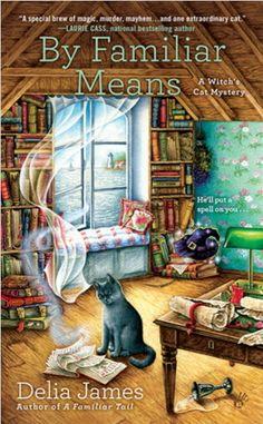 My #art on a Penguin Book by Delia James #cats #Penguinbooks http://www.penguinrandomhouse.com/books/318634/by-familiar-means-by-delia-james/9780451476586/