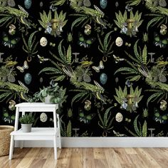 Her Wallpaper, Wallpaper Color, Temporary Wallpaper, Wallpaper Panels, Self Adhesive Wallpaper, Peel And Stick Wallpaper, Moody Wallpaper, Bedroom Wallpaper, Wallpaper Ideas
