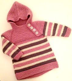Strikkly Speaking: Oslo-anorakk Baby Cardigan Knitting Pattern Free, Baby Knitting Patterns, Baby Patterns, Crochet Shawl, Crochet Baby, Knit Crochet, Knitting For Kids, Knitting Projects, Baby Barn