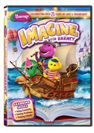 Join Barney and friends on this new adventure! Enter to Win your own copy of Imagine with Barney DVD. Michaela Dietz, Hippie Mom, Friends Poster, Barney & Friends, Video On Demand, Skills To Learn, Teaching Spanish, Cool Things To Buy, Stuff To Buy