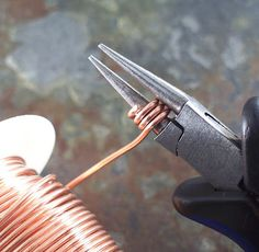 The Cerebral Dilettante: Make Your Own Coil Crimp Ends - the instructions are far down the page