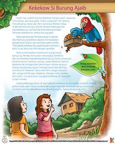 Kekekow Sang Burung Ajaib dan Dua Gadis