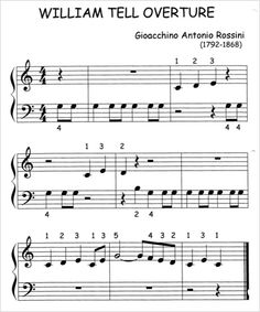 William Tell Overture Could modify this for Boomwhackers or recorders I believe!
