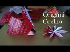Como fazer um COELHO de papel Origami dobradura Papiroflexia how to make...