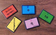📌 Αυτό το διασκεδαστικό παιχνιδάκι θα βοηθήσει τους μαθητές των πρώτων τάξεων του δημοτικού να εξοικειωθούν με το άρθρο, την κλίση του άρθρου, τα γένη, τους αριθμούς και τις πτώσεις! Απλώς εκτυπώστε σε χρωματιστές κόλλες, κόψτε και πλαστικοποιήστε. 📌 Τρόποι που μπορεί να �