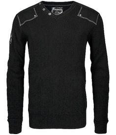 Buckle Black Little By Little V-Neck Sweater