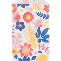 my little day 10 papieren zakjes bloemen