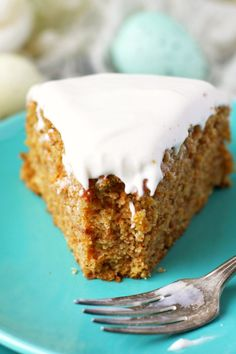 recipe for vegan and gluten free carrot cake. This lightly spiced cake ...