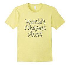 World's Okayest Aunt Tshirt - Male Small - Lemon CraftyTs http://www.amazon.com/dp/B017X2CG5Y/ref=cm_sw_r_pi_dp_zR9rwb05RMMSW