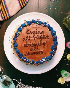 This Instagram Account Puts Drake Lyrics On Cakes #refinery29  http://www.refinery29.uk/2016/02/103258/drake-lyrics-cake-joythebaker#slide-10  Maybe one for Galentine's next year?...