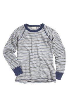 Seje Name it Trøje Willi wool Gråmeleret Name it Cardiganer & trøjer til Børn & teenager i fantastisk kvalitet
