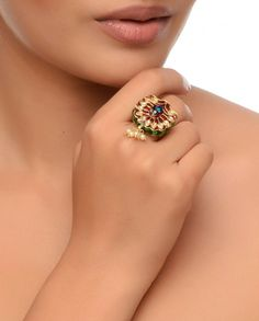 Peacock Ring !!!  Price - 2,500 /-  Place your order by sending us an email to justjewellery08@gmail.com