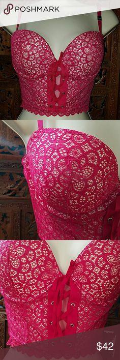 SALE 🦋NWT Victoria's Secrets pink bra 34d was $42 New with tags Victoria's Secrets pink push up bra 34d .  Underwire.. Victoria's Secret Intimates & Sleepwear Bras