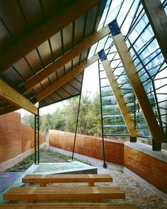 Maximise north light with this form Mockbee Rural Studio - Mason Bend Community Center Studios Architecture, Vernacular Architecture, Contemporary Architecture, Landscape Architecture, Interior Architecture, Tropical Architecture, Residential Architecture, Arch Interior, Interior And Exterior