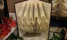 Folded Book Art Gingerbread Men  Made to Order by MissArtsyCraftsy, $15.00