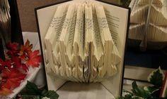Folded Book Art Gingerbread Men  Made to Order by MissArtsyCraftsy, $15.00