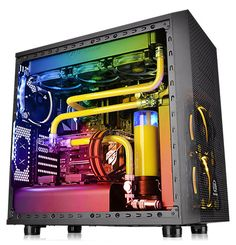 Thermaltake Core X31 RGB Edition Black ATX Gaming Mid Tower Tt LCS Certified…