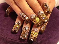 super cute 3d nails