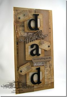 Thanks Dad by Lynn in St. Louis - Cards and Paper Crafts at Splitcoaststampers