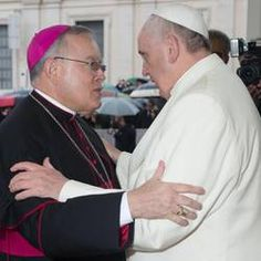 Pope Francis and Chaput-Pope Francis' visit to Philadelphia in 2015!