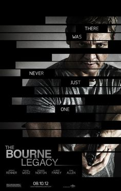 The Bourne Legacy - great action, cool story idea, some of it would have made sense had I brushed up on my Bourne Saga knowledge.  Bigger the screen; better the experience.