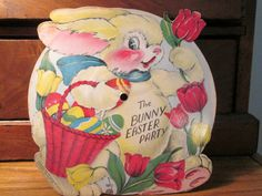 1948 Voco Inc Having Fun at the Bunny Easter by MBAntiquesAndToys, $12.00