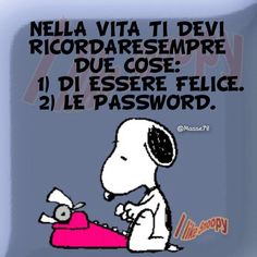 Snoopy - Jessica W. Snoopy Quotes, Me Quotes, Funny Quotes, Italian Quotes, Sarcasm Humor, Life Lessons, Quotations, Jokes, Wisdom