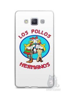 Capa Capinha Samsung A7 2015 Breaking Bad Los Pollos Hermanos #1 - SmartCases - Acessórios para celulares e tablets :)