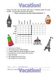 logic puzzle fun 2 math worksheets logic puzzles math logic puzzles math worksheets. Black Bedroom Furniture Sets. Home Design Ideas