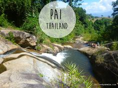 Mo Paeng waterfall in Pai Thailand Pai Thailand, Pattaya Thailand, Northern Thailand, Cambodia Travel, Thailand Travel, Asia Travel, Places To Travel, Places To Go, Beautiful Places To Live