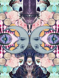 #art #triippy #psychedelic #psychedelicart #psychedelia #collage #graphic #graphicart #trippy Best Of Tumblr, Psychedelic Art, Music Lovers, Trippy, Lamb, Graphic Art, Photo Editing, Weird, Collage