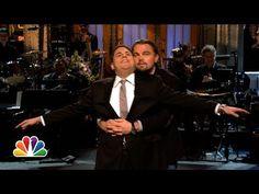 "This is why I love Leo!  Leonardo DiCaprio Crashes Jonah Hill's ""SNL"" Monologue, Recreates ""Titanic"""
