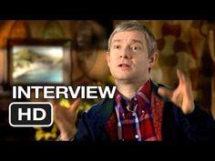 The Hobbit: An Unexpected Journey Martin Freeman Interview - Bilbo (2012) HD