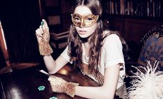 Wildfox Couture . Daisy Girls . Gloves . Mask