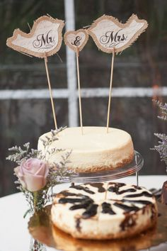 Teal Photography; Rustic Backyard Harrisburg Wedding from Teal Photography - wedding cake idea