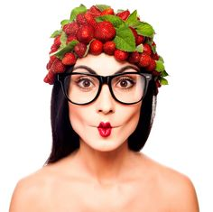 Summer Fruit Festival Berry Novelty Strawberry Sunglasses Farm Juice Shortcake